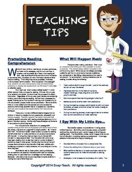Reading Comprehension  Passages Volume 4 Grades 3-5
