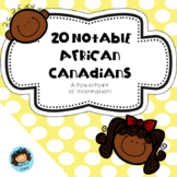 20 Notable African Canadians