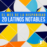 20 Notable Latinos in the US--biographies for Hispanic Heritage Month