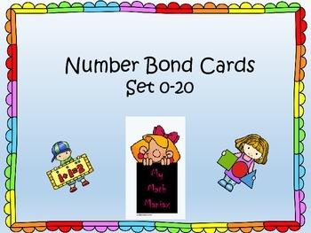 20 Number Bond Card Set