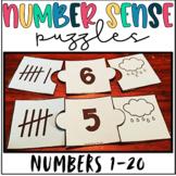 Number Sense Math Center- Puzzles
