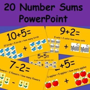 20 Number Stories PowerPoint Presentation