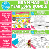 Grammar Bundle - Daily Fix It Sentence Editing, Print & Fo