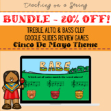 20%OFF BUNDLE Cinco De Mayo All 3 Clefs Digital Review Games Elementary Music