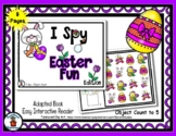 Easter Fun - Adapted 'I Spy' Easy Interactive Reader - 8 pages