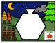 20 PATTERN BLOCK PUZZLES-HALLOWEEN AND FALL THEMED (ENGLISH)
