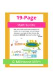 20-Page Math Bundle with Bonus Book