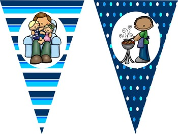 20 Pennant Banners  For the Whole School Year {editable}