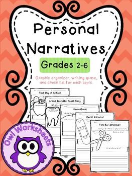 20 Personal Narrative Graphic Organizers