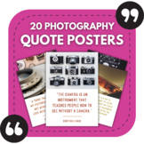 20 Photography Posters - Photography Quotes for High Schoo