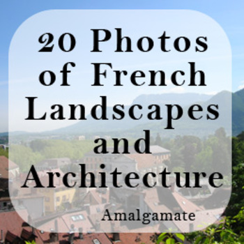 Eastern France: 20 Photographs of Landscapes and Architecture