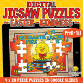 20-Piece DIGITAL JIGSAW PUZZLES Online Games for EASTER |