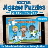 20-Piece DIGITAL JIGSAW PUZZLES Online Games on FRIENDSHIP