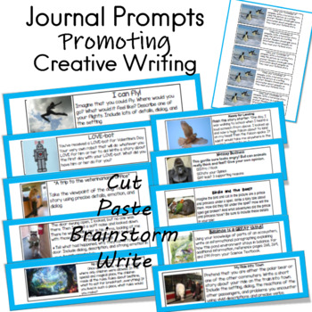 Power Writing Prompts for Journals (20)