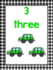 20 Printbale Number Counting Posters. Numbers 1-20. Presch