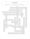 20 Question Harry Potter Order of the Phoenix Crossword with Key