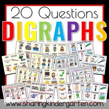 20 Questions Digraphs