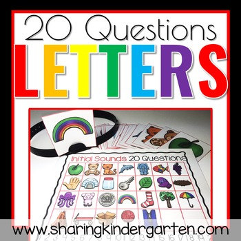 20 Questions Letters