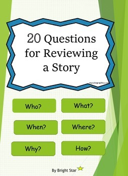 20 Questions for Reviewing a Story