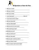 20 Questions to Start the Year