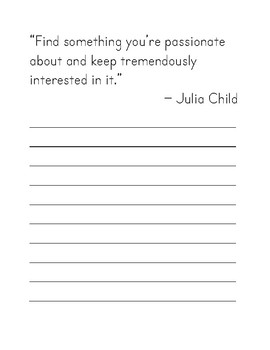 20 Quotes About Following Your Dreams Print Copy Work for Handwriting Practice