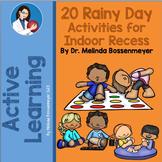 20 Rainy Day Activities for Indoor Recess & PE