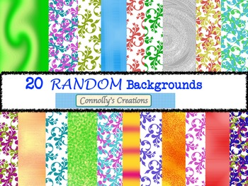 20 Random Backgrounds