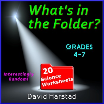 Science | 20 Random Worksheets (Grades 3-7)