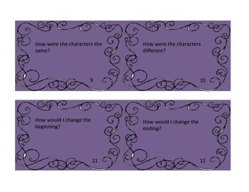 20 Readers Response Task Cards