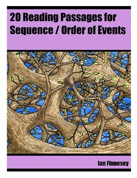 20 Reading Passages For Practicing Sequence Order Of