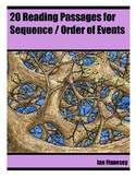 20 Reading Passages for Sequence / Order of Events