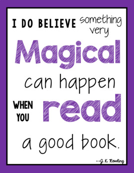20 Reading Quote Posters