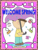 Spring Review Math and ELA  Packet Printables Centers!