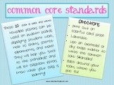 Reusable Common Core Standards Posters for grades K-12 (20)