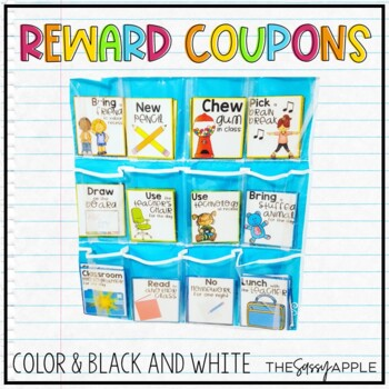 20+ Reward Coupons in Color and Black & White