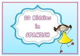 20 Riddles in Spanish - 20 Adivinanzas en español