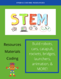 20+ STEM / Coding Activities!!!