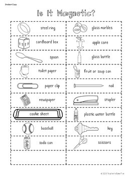 20 Interactive Science Sorts