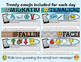 20 Reading Passages September - Google Classroom Activities / Text Dependent