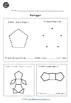 Shapes Worksheets for Kindergarten