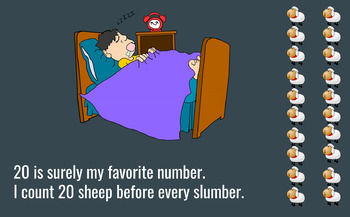 20 Sheep Before Sleep - Read Aloud For Subtraction and Addition