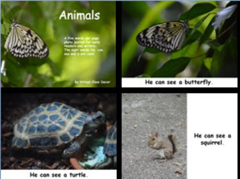 eBooks - 20 Sight Word Books With Real Photos - Animals