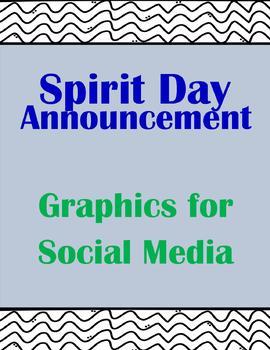 20+ Spirit Day Announcements for Social Media
