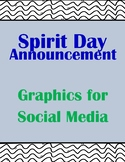 20+ Spirit Day Announcements for Social Media