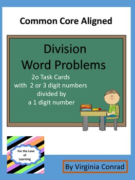 Division Word Problems