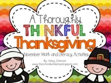20 Thanksgiving Math and Literacy Activities