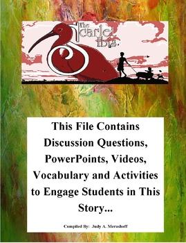 The Scarlet Ibis by James Hurst Teacher Supplemental Resources Fun Engaging