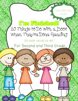 20 Things to Do With a Book When They're Done Reading!