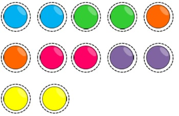 20 Token Board templates (10 designs - 5/10 token options)