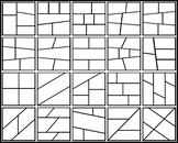 20 Transparent Comic Layouts (1080x1080) #1